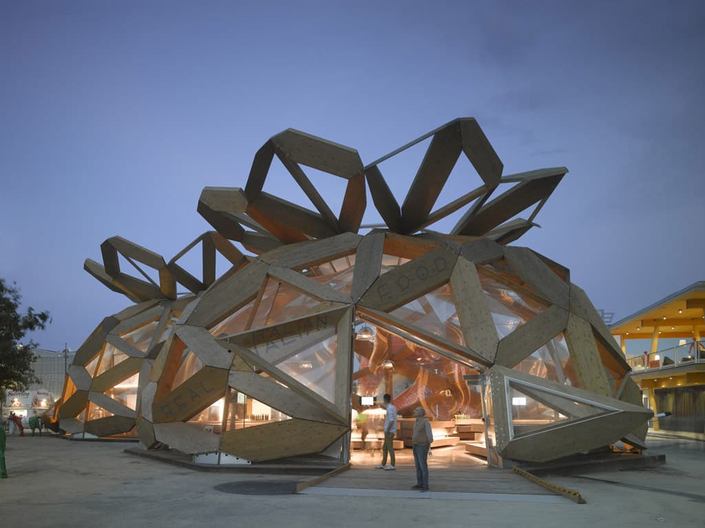 COPAGRI Expo 2015 Prefabricated wooden pavillon
