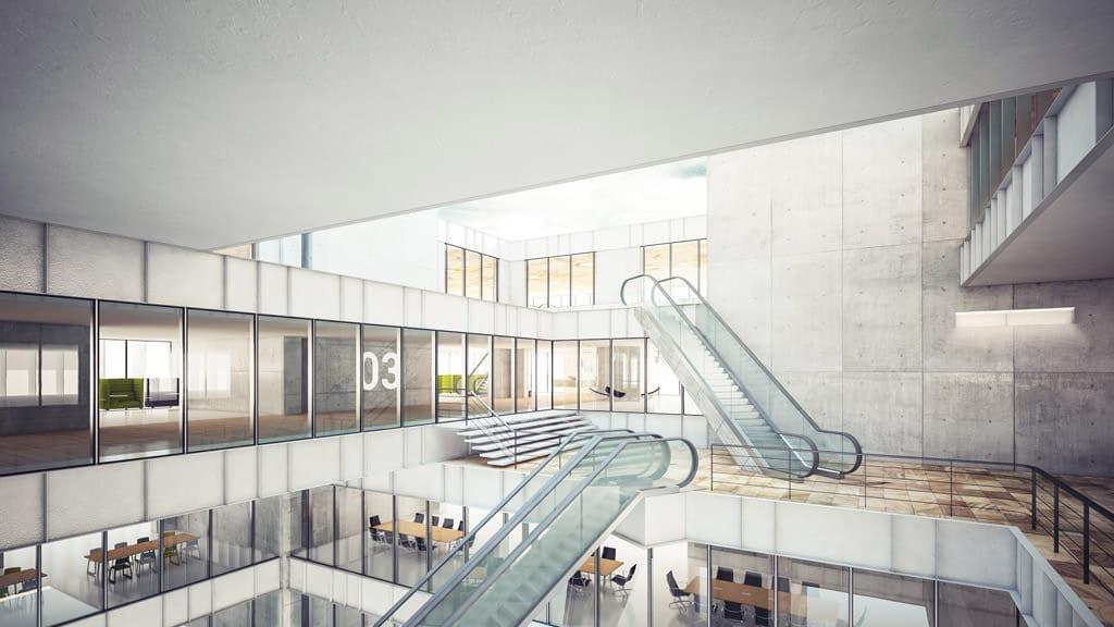 High Rise Hotel Interiors EPTA
