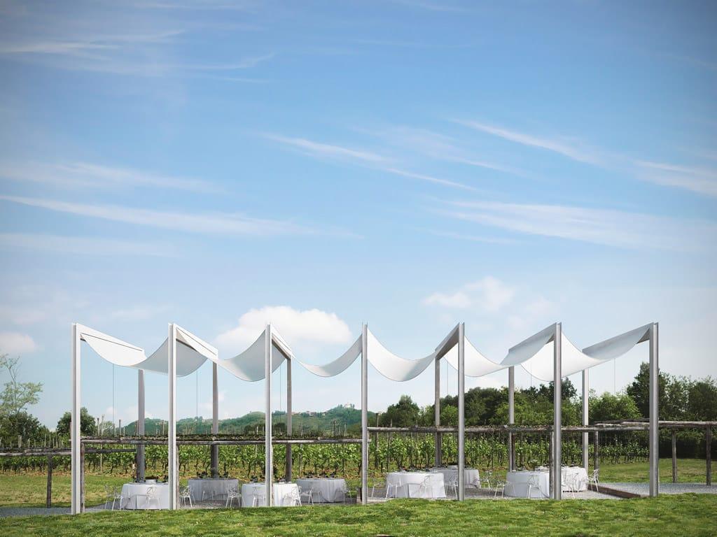 Temporary Vineyard Pavilion EPTA