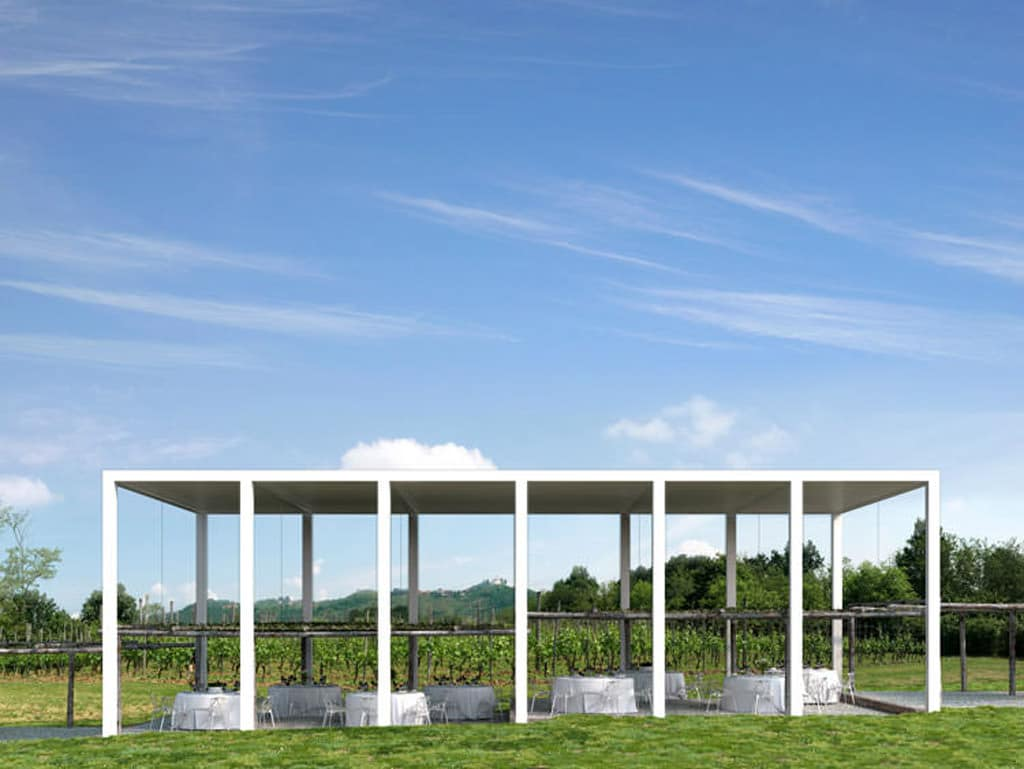 La Pergola Temporary Vineyard Pavilion