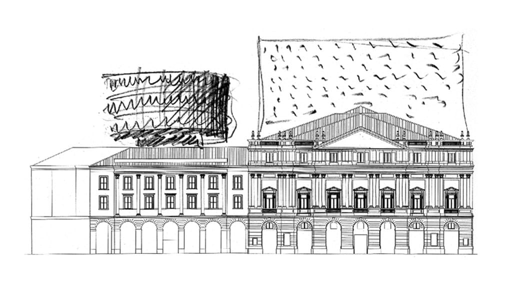 La Scala Milano Sketch