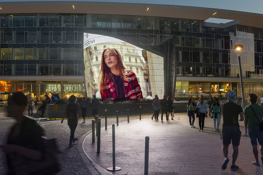 Milano Digital Vela Gae aulenti RTL Cantanti