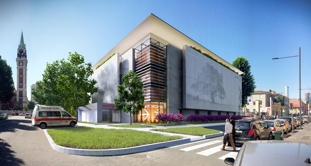 New Surgery Pavilion Buzzi Children Hospital