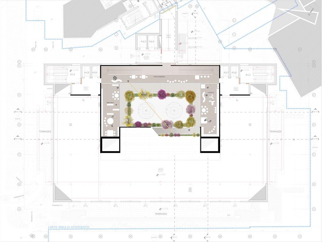 New Surgery Pavilion Buzzi Children Hospital plan