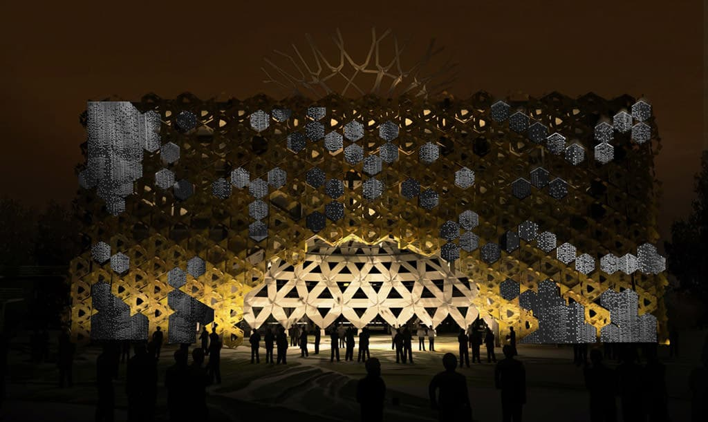 Palazzo Italia EXPO 2015 Facade