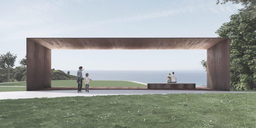 Public park project Genova