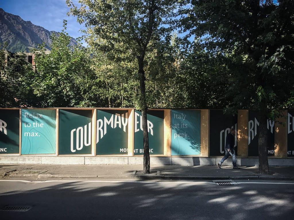 Street barriers - Courmayeur EPTA