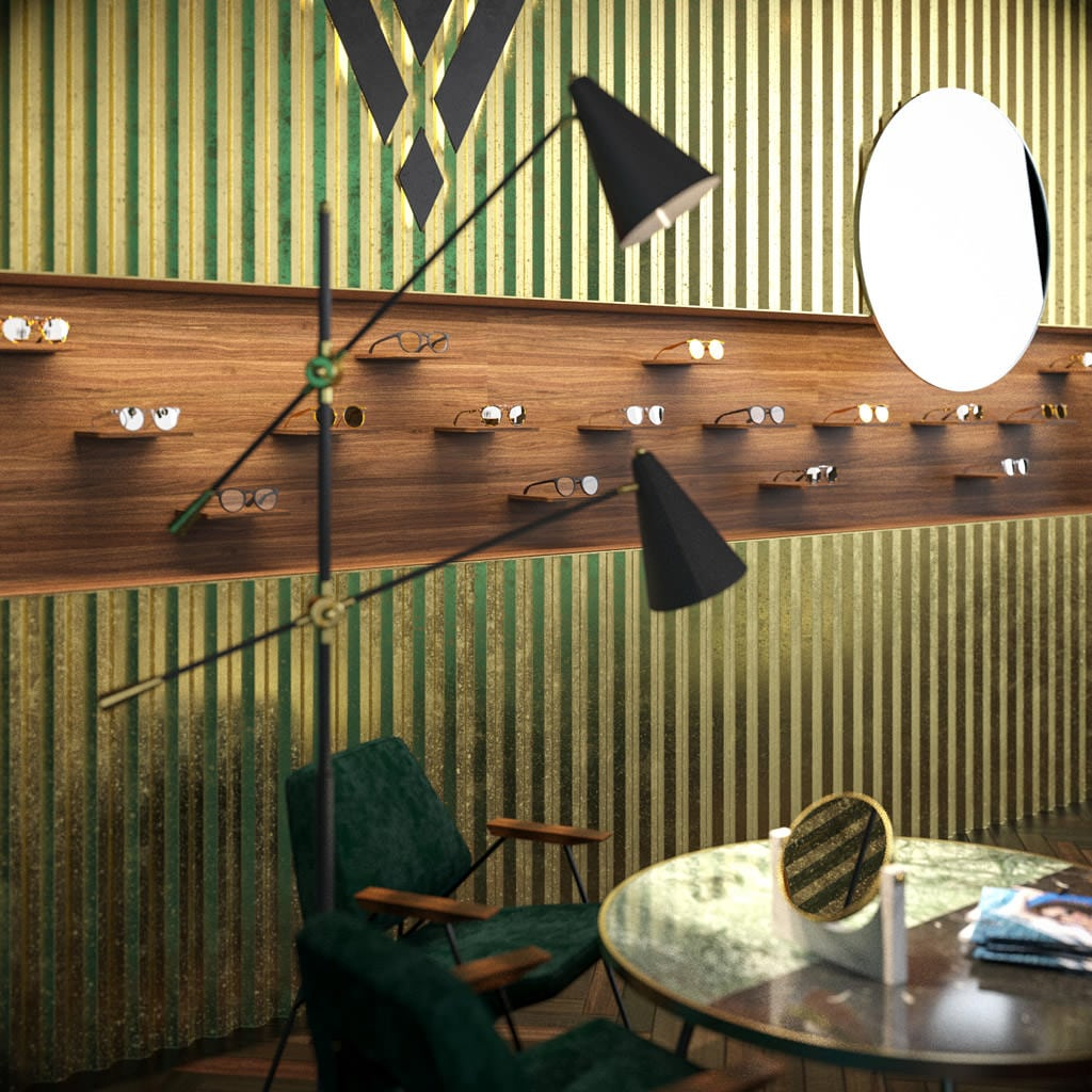 Viveur Sunglasses Retail Design Concept EPTA