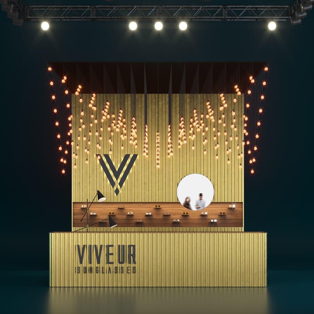 Viveur Sunglasses Retail Design Concept